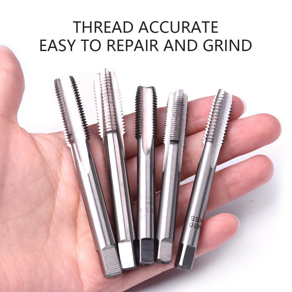 1pc HSS Machine M22 X 2mm Plug Tap and 1pc M22 X 2.0mm Die Threading Tool