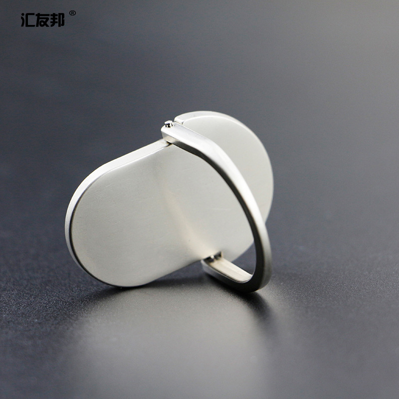 Nuevo Universal Metal Finger Ring Teléfono móvil Smartphone Soporte - Accesorios y repuestos para celulares - foto 2
