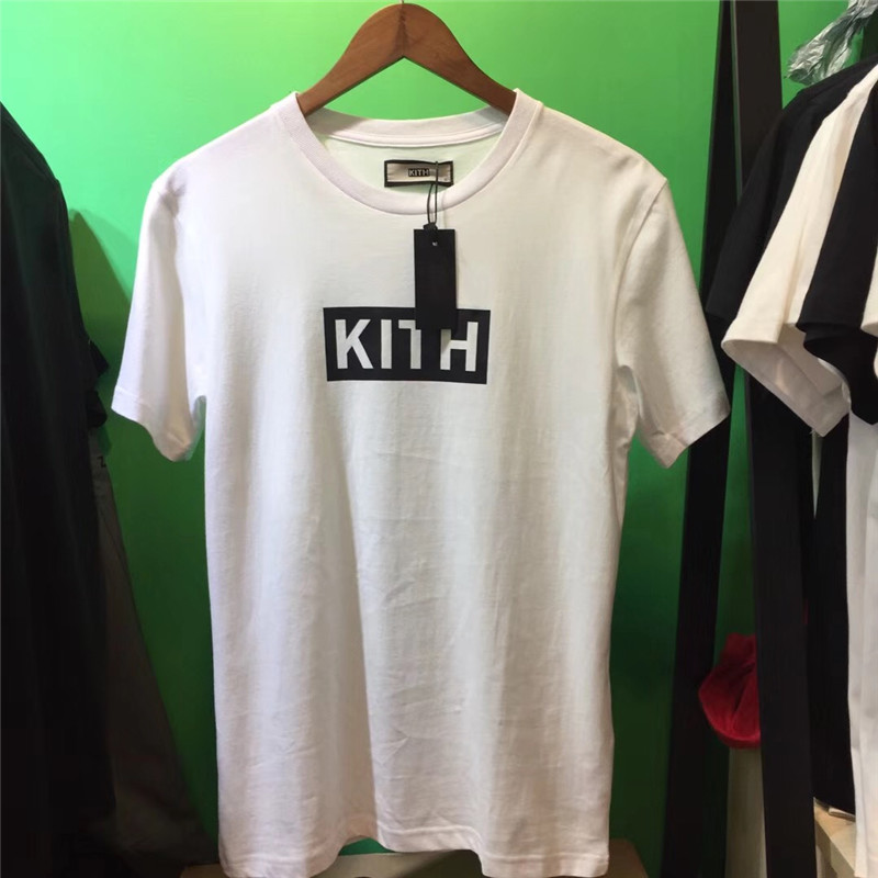2019 BOX KITH T Shirt Men Women 1:1 Best Quality Kith T-shirt Classic Summer Style Hip-hop Fashion Top Tees Kith T-shirts