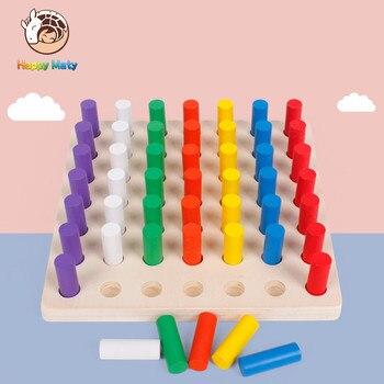 Materiales Montessori Juguetes Educativos Juegos Cilindro Zocalo
