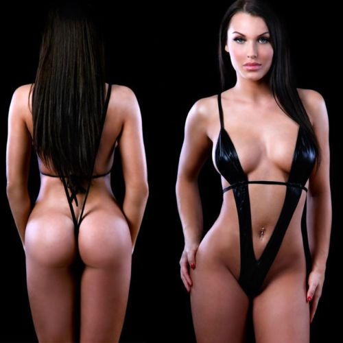 Hirigin 2017 Women <font><b>Lingerie</b></font> <font><b>Sexy</b></font> Hot <font><b>Erotic</b></font> <font><b>Sexy</b></font> Bodysuit Glossy Cortex Body Suits For Women <font><b>Sexy</b></font> <font><b>Latex</b></font> Bodysuit Sleepwear Hot image