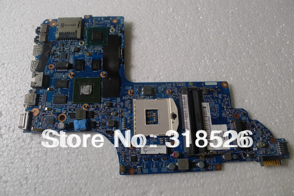 On sale 682170-001 Tarjeta madre for HP Pavilion DV6-7000 motherboard HM77 NON-INTEGRATED NVIDIA GeForce GT 630M+GMA HD 4000