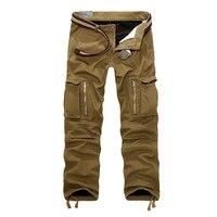 Men S Fleece Cargo Pants Male Tactical Pants Winter Camouflage Trousers For Men Multi Pocket Army