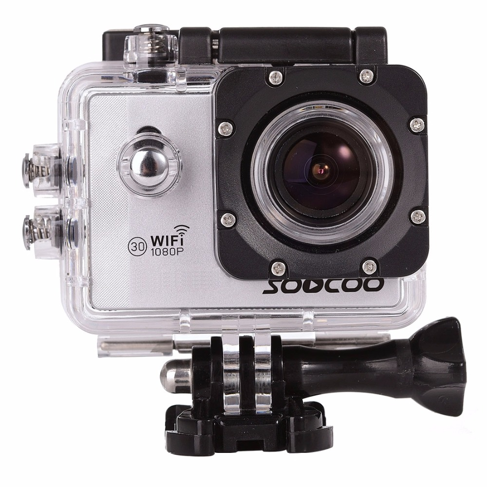 SOOCOO C10S 1080P NTK96655 WiFi Sports Action Camera Camcorder with Waterproof Case 170 Degrees Wide Angle Lens 30m Waterproof цена