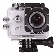 SOOCOO C10S 1080P NTK96655 WiFi Sports Action Camera Camcorder with Waterproof Case 170 Degrees Wide Angle Lens 30m Waterproof