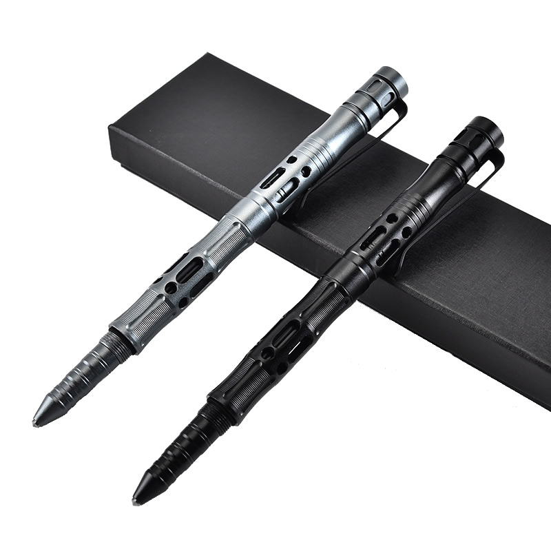 New Tactical Pen With Emergency Flashlight Glass Breaker Self Defense Supplies Outdoor Survival EDC Tool Gift Dropshipping