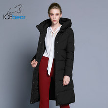 ICEbear 2019 new high quality women's winter jacket simple cuff design windproof warm female coats fashion brand parka GWD18150(China)