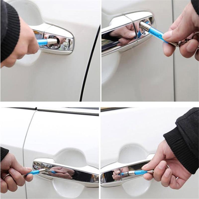 Car Static Eliminator Electrostatic Pen Keychain Bar Anti-static Gadgets