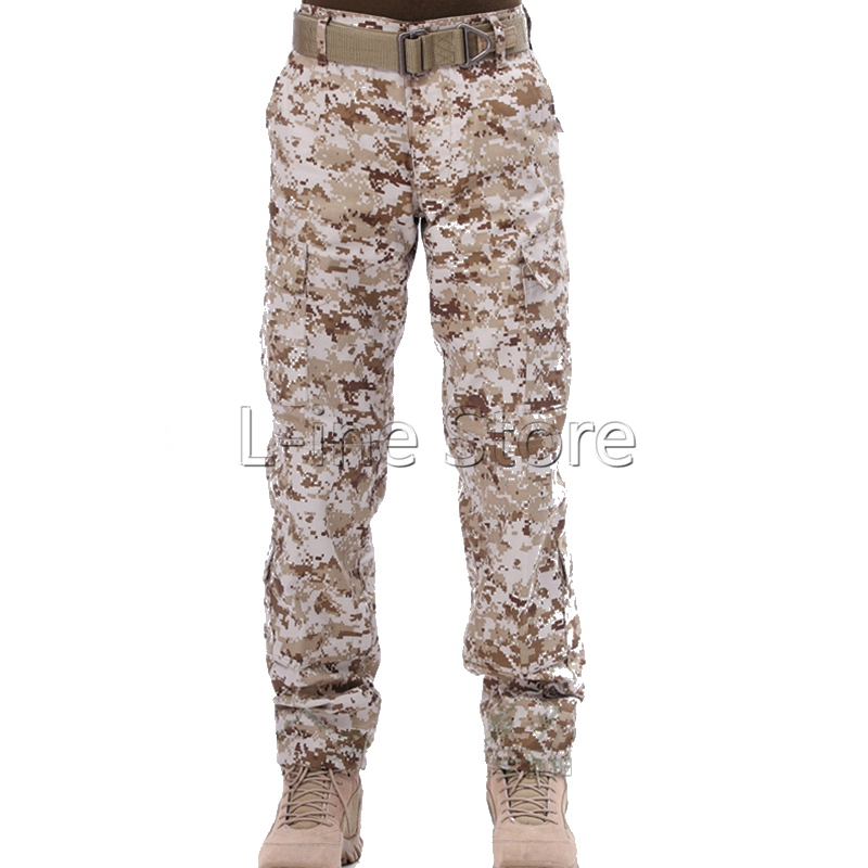Hunting Army Uniform Pants Combat Pants Tactical Outdoor Army Sport Training Dust Trouses Camouflage