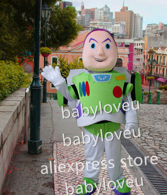 Cheap buzz lightyear fancy dress costume
