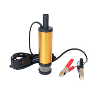 12V 24V DC Electric Submersible Pump For Pumping Diesel Oil Water Aluminum Alloy Shell 12L Min