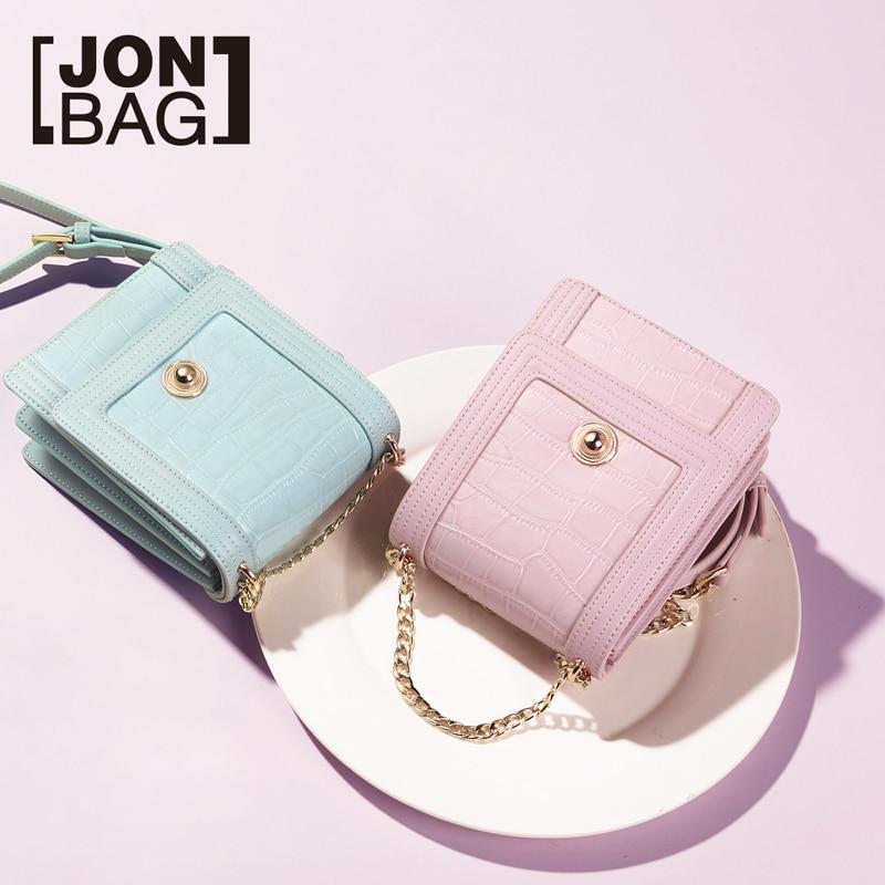 JONBAG small bag 2019 spring model new Korean version of fashion hundred girls bag INS chain bag single shoulder oblique satchel