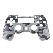 Front Behuizing Shell Gezicht Case Cover Skin Beschermende Camo Bovenste Voor Sony Playstation 4 PS4 Dualshock 4 V1 Controller Camouflage