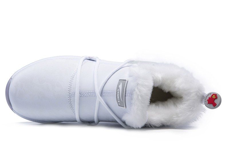 ONEMIX New Winter Running Shoes for women Comfortable Women's boots Warm Wool Sneakers Outdoor Unisex Athletic Sport Shoes women 36