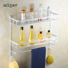 free shipping  Hot sale Aluminum  Bathroom shelf,  towel bar,bathroom accessories ,shampoo shelf ,soap shelf ,towel rack