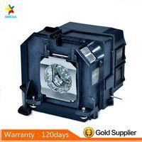 Uyumlu Projektör lamba ampulü ELPLP90 için EB 670  EB 675W  EB 675WI  EB 680WI  PowerLite 675 W Projektör Ampulleri Tüketici Elektroniği -