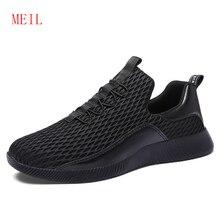 New Style Mesh Sport Wear for Men Sneaker 2019 Summer Mens Casual Breathable Korean Version Fashion Trend Man Slip On Board Shoe