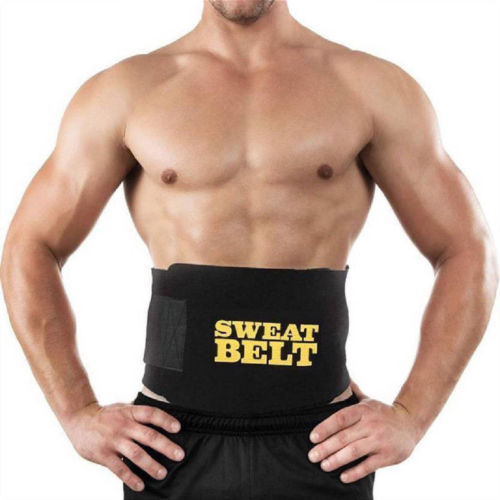 Unisex Cummerbunds Men Women Sweat Belt Waist Trimmer Belt Shapers Black Waist Cinchers Trainer Corset Shapewear