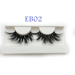 Image 4 - Buzzme Mink Eyelashes Wholesale 20/30/40/50pairs/lot 3D Mink Lashes Only With Tray No Box Makeup Dramatic Long Mink Lashes