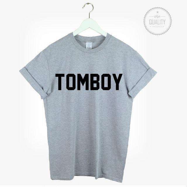 tomboy t shirt urban hipster love cute cool fashion unisex blogger