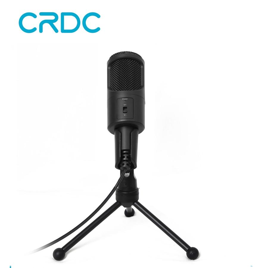 все цены на CRDC Professional Condenser Microphone Wired Computer USB Microphones Audio Studio For recording PC Chatting Singing Karaoke KTV онлайн