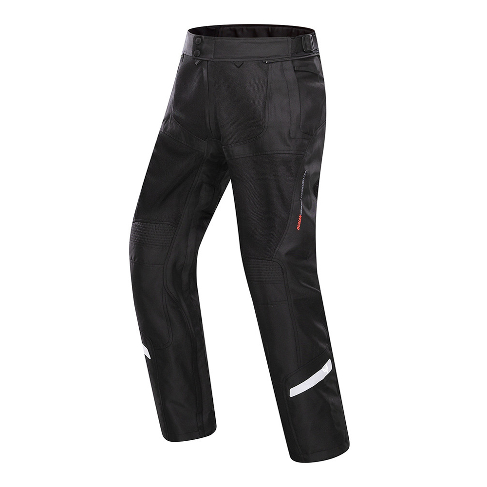 DUHAN Spring&Summer Men Motorcycle Pants Moto Trousers Breathable Motorbike Motocross Pants Motorcycle Clothing Protective Gear