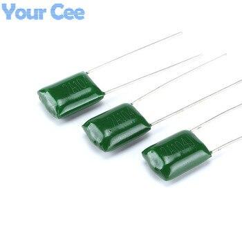 50 шт полиэфирное волокно пленочные конденсаторы 2A104J 100 V 0,1 мкФ 100NF