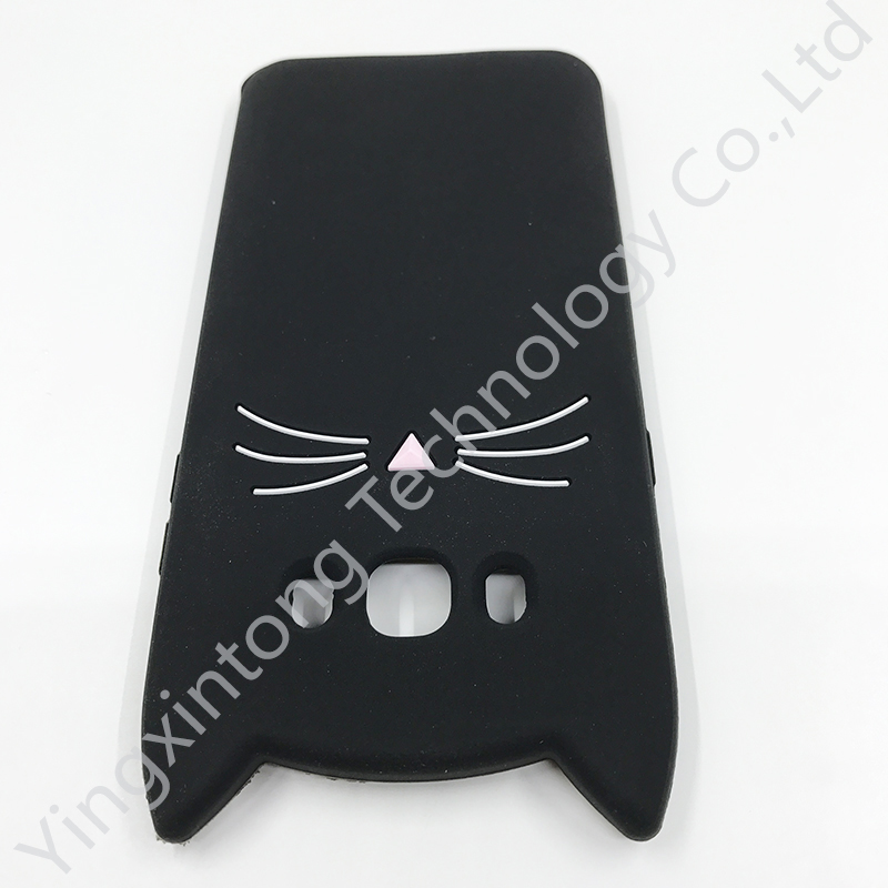 Innovation Animal Phone Case For Samsung Galaxy J3 J5 J7 2016 A3 A5 2017 S6 S7 Edge Cute 3D Mustache Cat Silicone Coque Cover in Fitted Cases from Cellphones Telecommunications