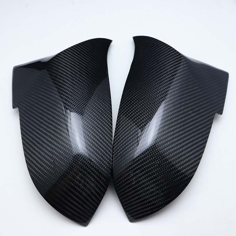 Replacement Carbon Fiber M3 M4 Look Rear View Mirror Cover Caps for BMW 2 Series F22 F23 218i 220i 228i Coupe & Convertible