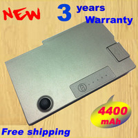 4400mah 6 Cells Laptop Battery For Dell Latitude D500 D505 D510 D520 D530 D600 D610 For