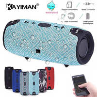 Bluetooth Speaker Outdoor Bicycle 20w Waterproof Mic Portable Bluetooth Wireless Speaker Fm Radio Tf Card