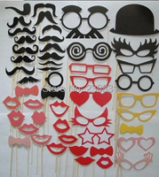 Wedding Events Set Of 50 Mustache On A Stick Wedding Party Photo Booth Props Photobooth Masks