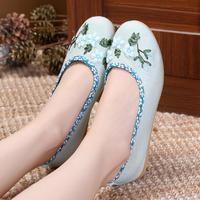 Spring Summer New Old Beijing Shoes Shoes Folk Style Shoes Retro Dance Shoes Flat Mother Hanfu