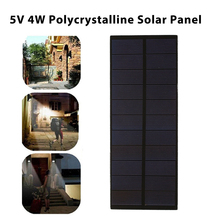 BCMaster Solar Panel 5V 4W Mini Solar System DIY For Battery Cell Phone Chargers Portable Solar Cell