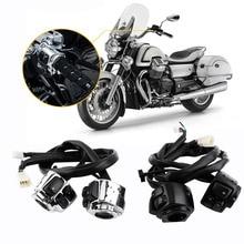 """Interruptor de Control de La Motocicleta 2x manillar 25mm 1 """"Manillar Interruptor de Arnés de Cableado de Control Para Harley Manillar Interruptor de Control"""