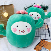 Lovely Cartoon Botany Cactus Plush Toy Doll Stuffed Soft Plush Pillow Creative Gift Birthday For Children стоимость