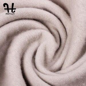 Image 4 - Furtalk 100% Lamswol Sjaal Vrouwen Winter Kasjmier Warme Sjaals Kwastje Luxe Winter Hijab Sjaal Wraps Foulard Femme