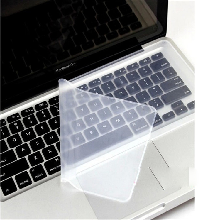 US $1 6 5% OFF|2pcs/Lot keyboard stickers for Macbook 15 6 17 inch  Universal Laptop Keyboard Cover Protector Silicone Film Dustproof  Waterproof-in