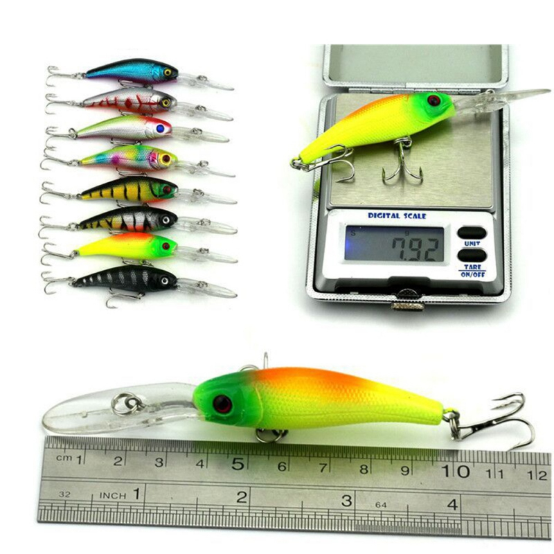 2018 Profession Mixed Fishing Lure Set Artificial Fishing Lure Kit Minnow Fishing Strongly Fishing Hard Bait 43 pcs /1set 30pcs set fishing lure kit hard spoon metal frog minnow jig head fishing artificial baits tackle accessories