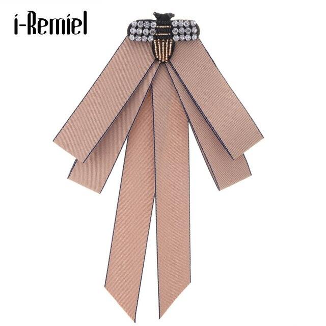 Я-Remiel Луки Bowties наряд рубашка Для женщин бабочки Винтаж рубашка Для женщин s Топы и блузки и броши Вечерние галстук для девочек