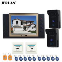 8 Video Door Phone Doorbell Intercom System Video Recoreding Photo Taking With Access Control System 10