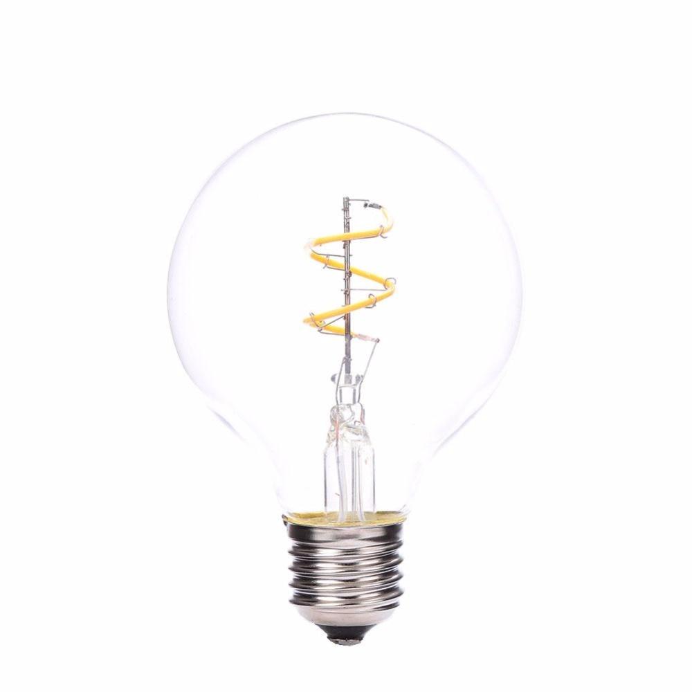 E27 COB 2200K LED Vintage Edison Lamp Filament Light Bulbs 110/220V Warm White low power consumption and high illumination e14 2w edison style cob led lamp bulbs light warm pure white 110 220v