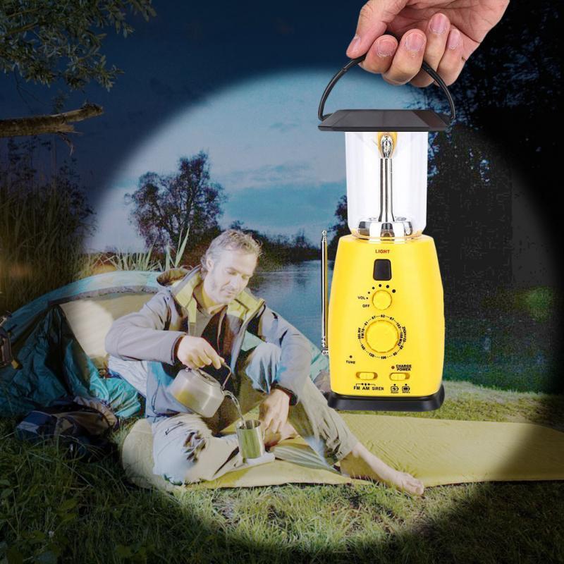 Portable Solar Lantern Camping Light Rechargeable Battery Hand Lamp Outdoor Camping Lanterna Tent Lights mingray 3w mini camping lanterna led bulb aaa battery outdoor portable light water resistant tent camping lantern led bulb