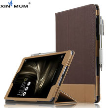 цена на PU Protector Sleeve Case For ASUS ZenPad 3S 10 Protective Smart cover Leather Tablet For asus ZenPad 3 s 10 Z500M 9.7 inch