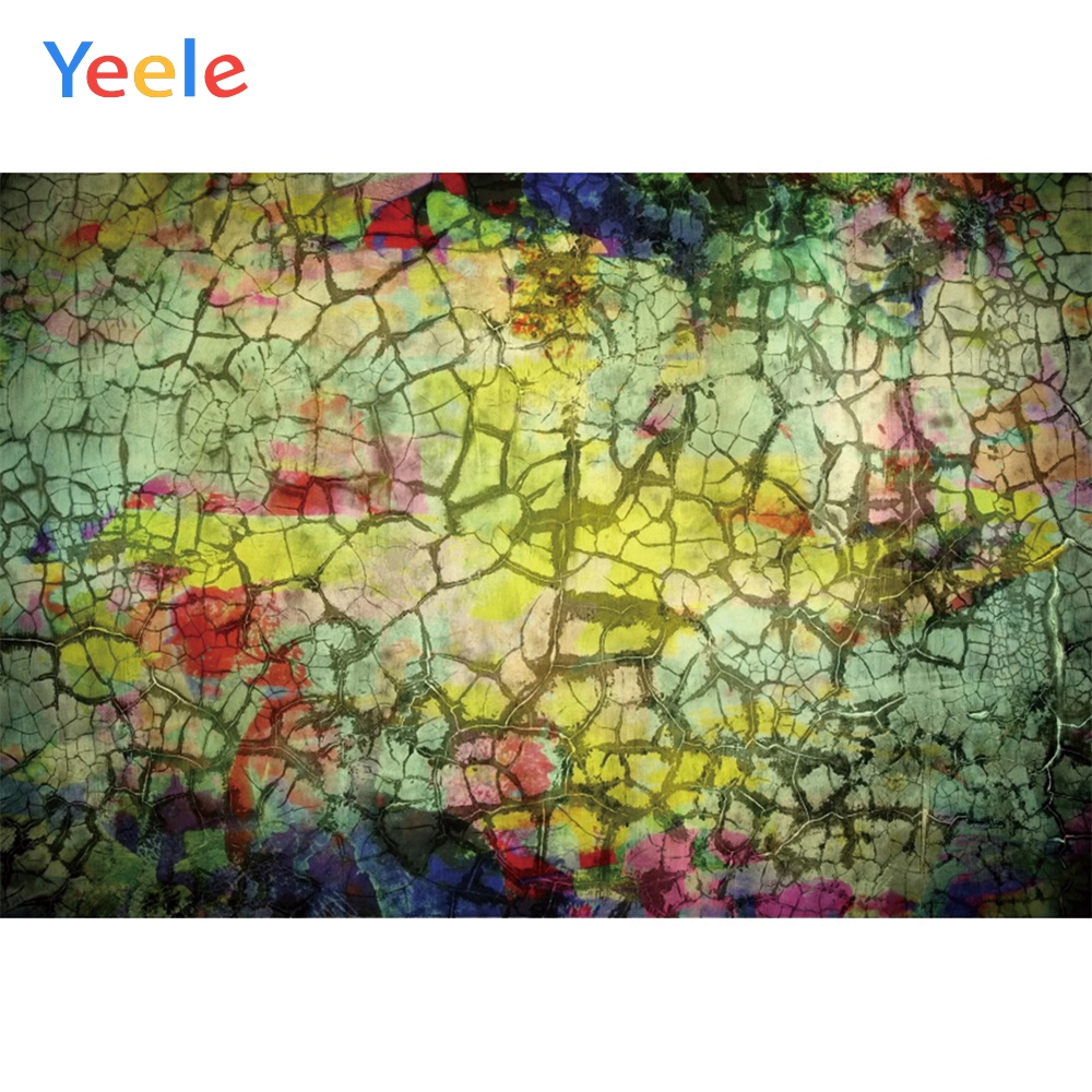 Yeele Grunge Retro Crack Decoration Wall Baby Personalized Party Photographic Backdrops Photography Backgrounds For Photo Studio-in Background from Consumer Electronics