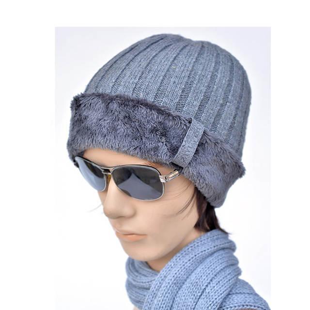 cd792be16b3 Online Shop Super good winter hats for women plus velvet knitting wool  fabrics keep warm beanie men cap Casual beanies for women bone gorro