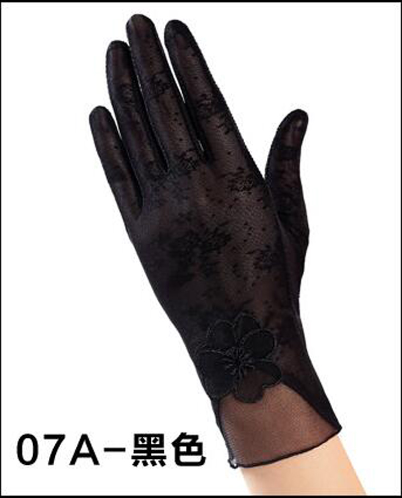 HTB11JjkRFXXXXbuXVXXq6xXFXXXd - Sexy Summer Women UV Sunscreen Short Sun Female Gloves Fashion Ice Silk Lace Driving Of Thin Touch Screen Lady Gloves G02E