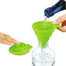 DealsOcean Mini Funil funil Dobrável Dobrável Estilo Gel de Silicone Acessórios de Cozinha Cozinhar Ferramentas Gadgets de Cozinha Ao Ar Livre