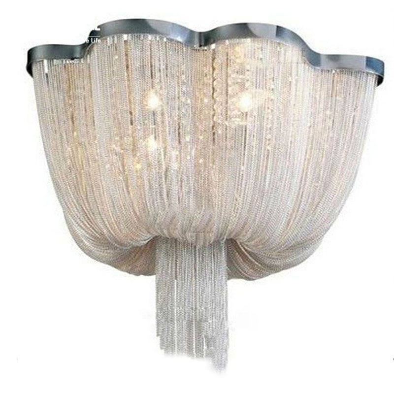 french chain chandelier light fixture empire vintage. Black Bedroom Furniture Sets. Home Design Ideas