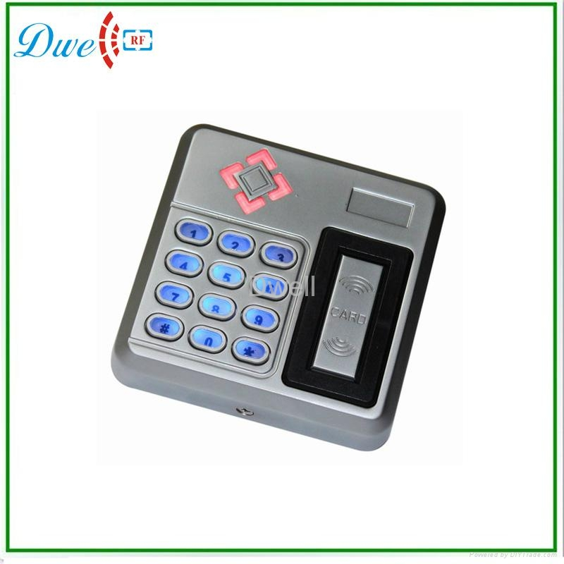 ФОТО TCP/IP mf 13.56mhz backlight keyboard silver color wiegand 26 output format smart rfid reader